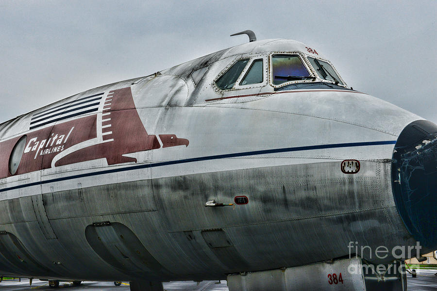 Paul Ward Photograph - Plane Capital Airlines by Paul Ward