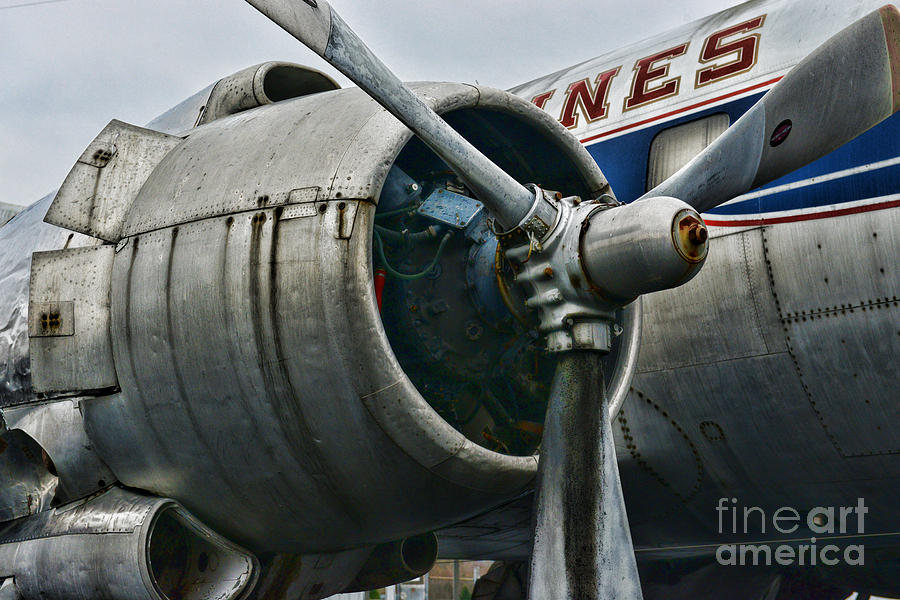 Paul Ward Photograph - Plane Check Your Engine by Paul Ward