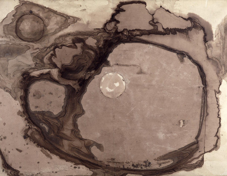 Marks Painting - Planets by Victor Hugo