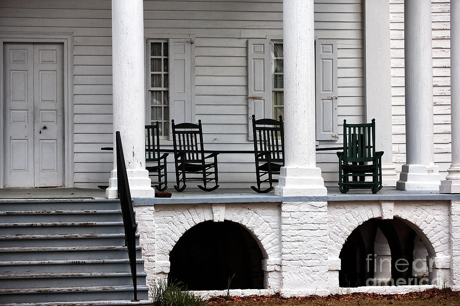 Plantation Porch Photograph