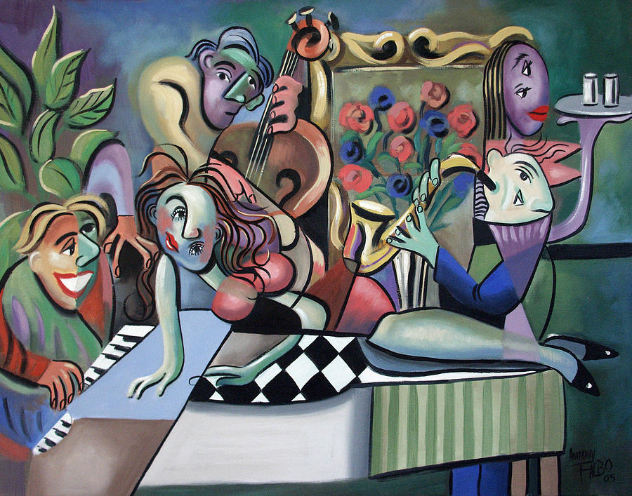 Play It Again Sam Painting  - Play It Again Sam Fine Art Print