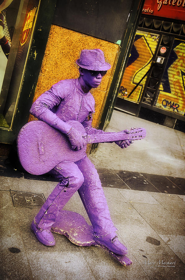 Play The Music - Madrid Photograph