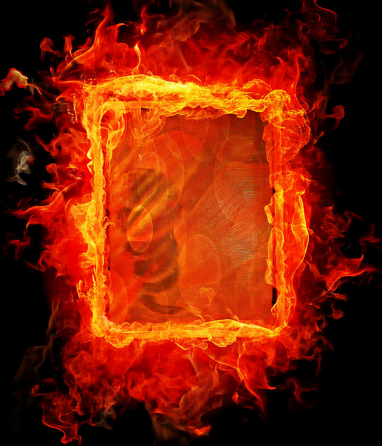 Playing With Fire 2 Mixed Media