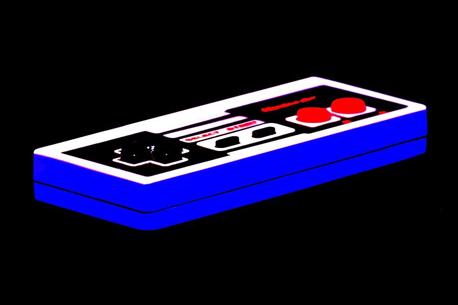 Nintendo Photograph - Playing With Power by Benjamin Yeager