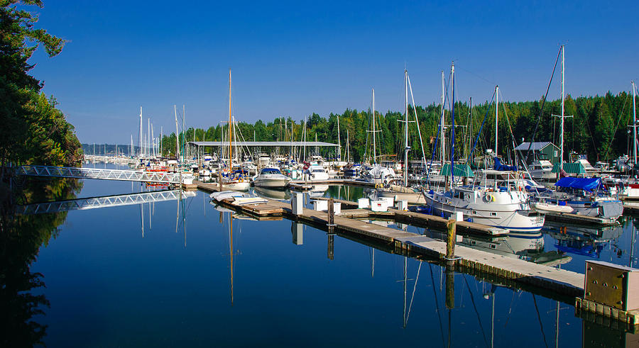 Pleasant Harbor Photograph  - Pleasant Harbor Fine Art Print