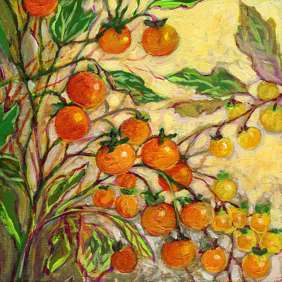 Plein Air Garden Series No 15 Painting