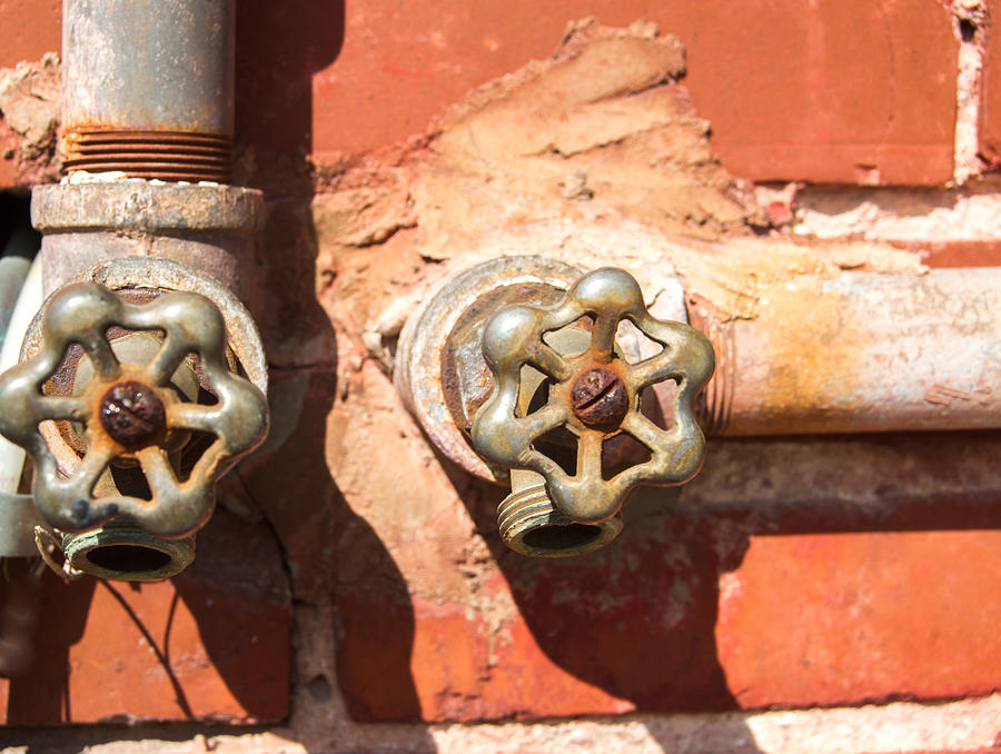 Plumbing And Mortar Photograph