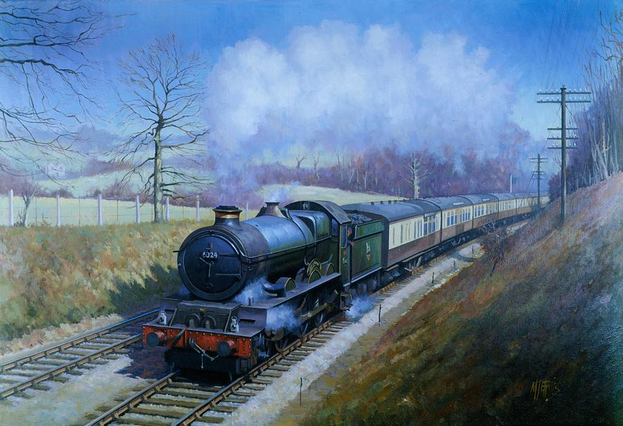 Classic Painting - Plymouth Bound. by Mike  Jeffries