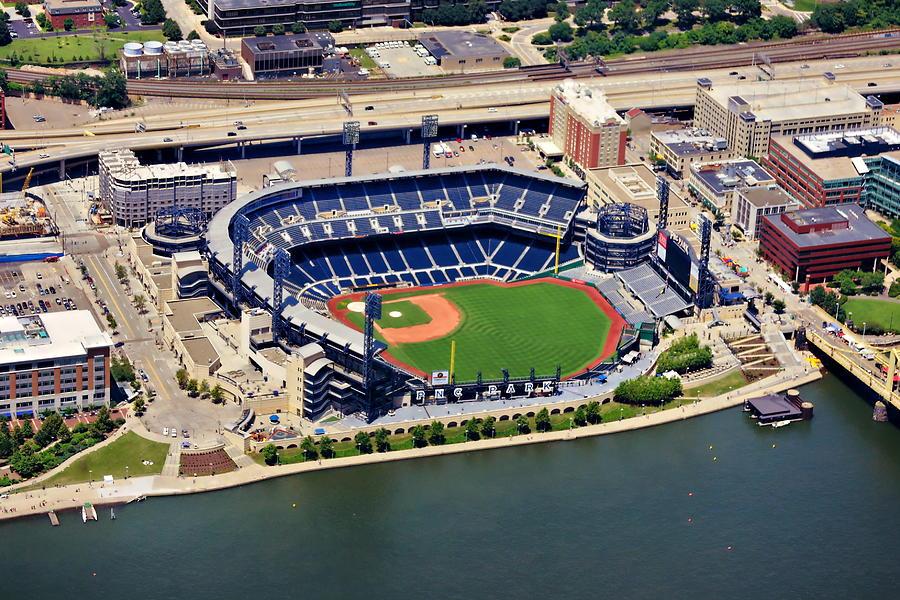 Pnc Park Aerial 2 Photograph