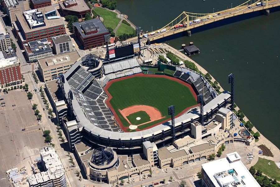Pnc Park Aerial Photograph