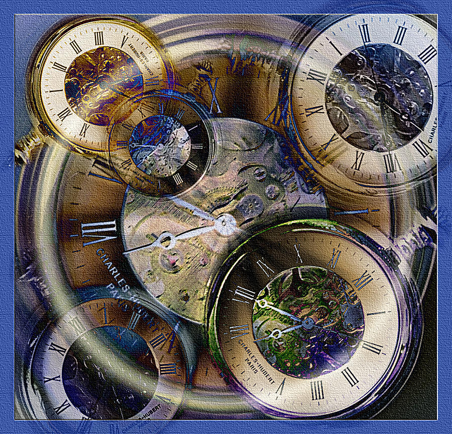 Watch Photograph - Pocketwatches by Steve Ohlsen