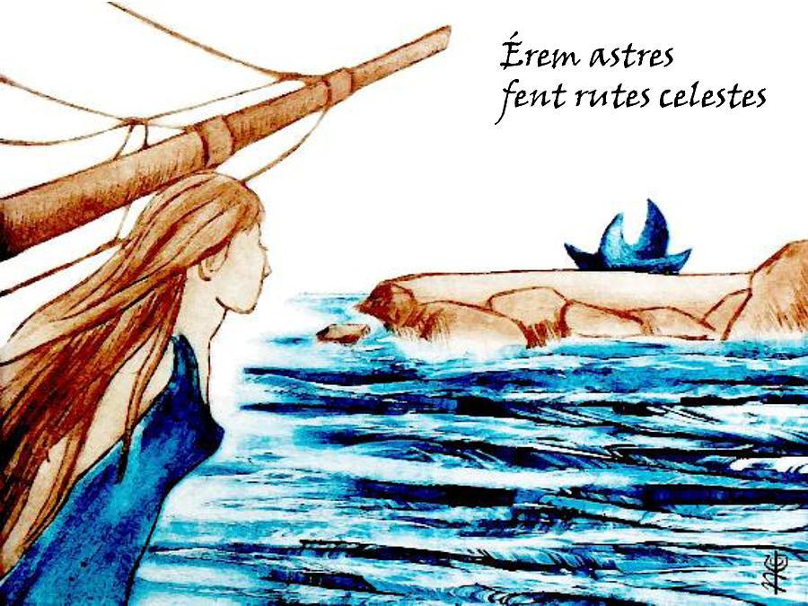 Poesia Amorosa En Catala - Diada De Sant Jordi Painting
