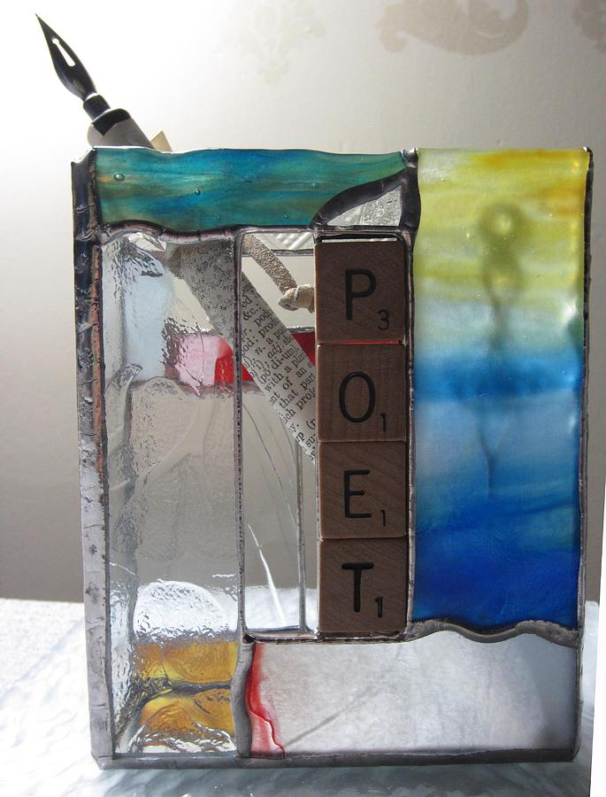 Poet Windowsill Box Painting