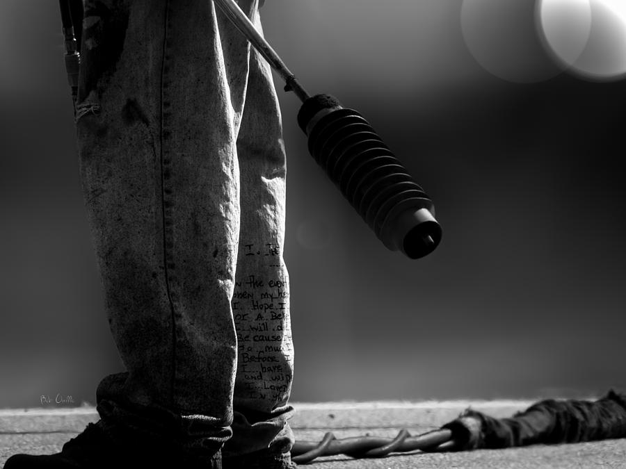 Poetry Pants And Flamethrower  Photograph