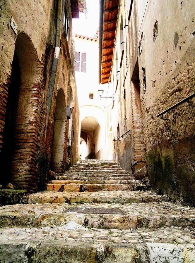 Poggio Catino Photograph - Poggio Catino Italy by Giuseppe Epifani