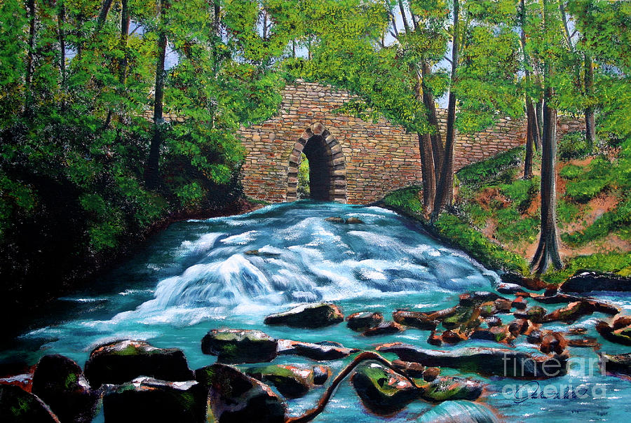 Poinsett Bridge I Painting