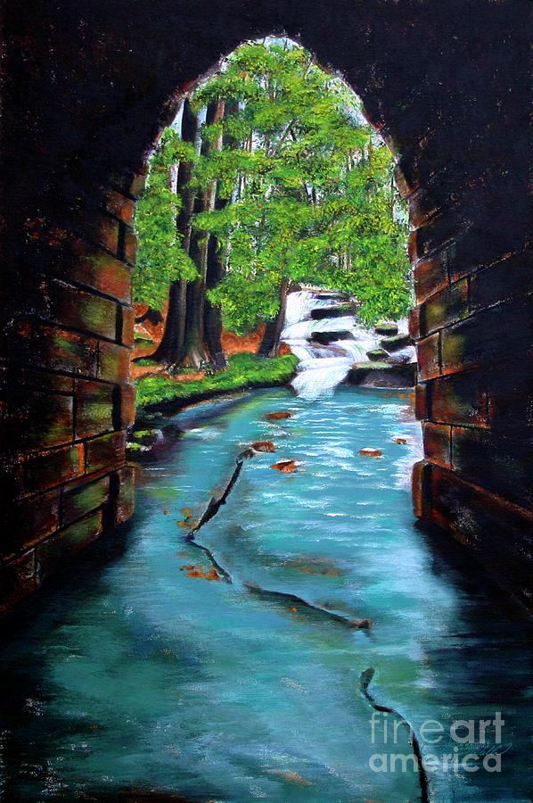 Poinsett Bridge II Painting  - Poinsett Bridge II Fine Art Print