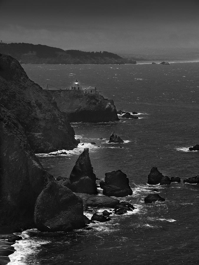 Point Bonita Light Photograph  - Point Bonita Light Fine Art Print