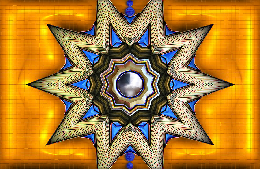 Point Of View - Gold Digital Art