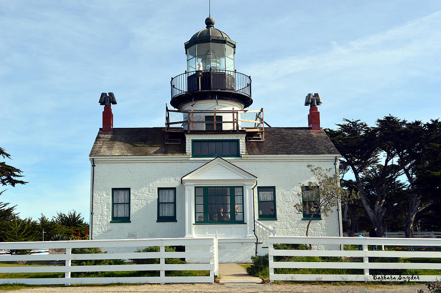 Point Pinos Lighthouse Digital Art  - Point Pinos Lighthouse Fine Art Print