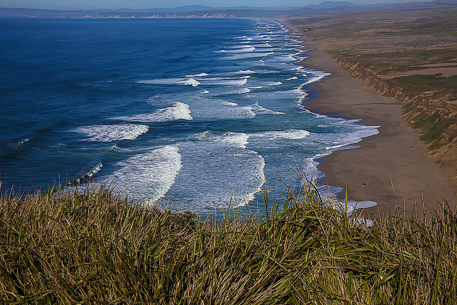 Point Reyes Photograph - Point Reyes Beach Seashore by Garry Gay