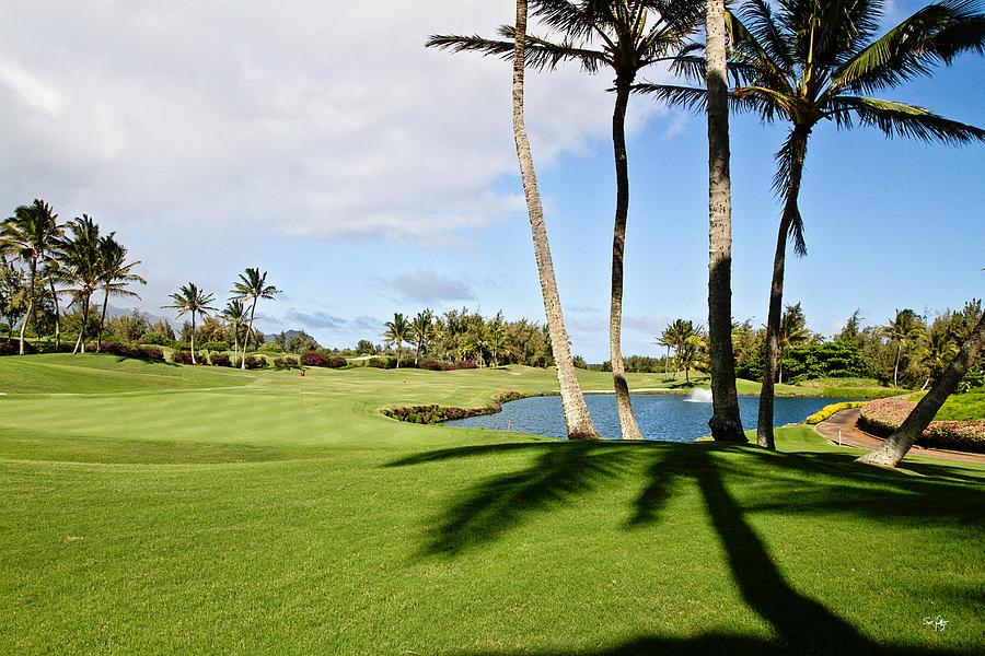 Golf Photograph - Poipu Bay #18 by Scott Pellegrin