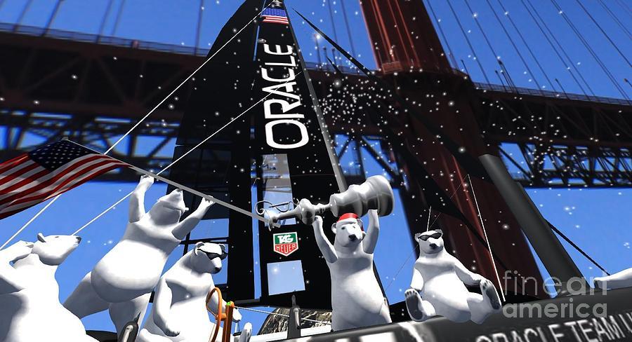Polar Gate  Digital Art