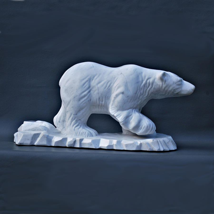 Polar King Sculpture  - Polar King Fine Art Print