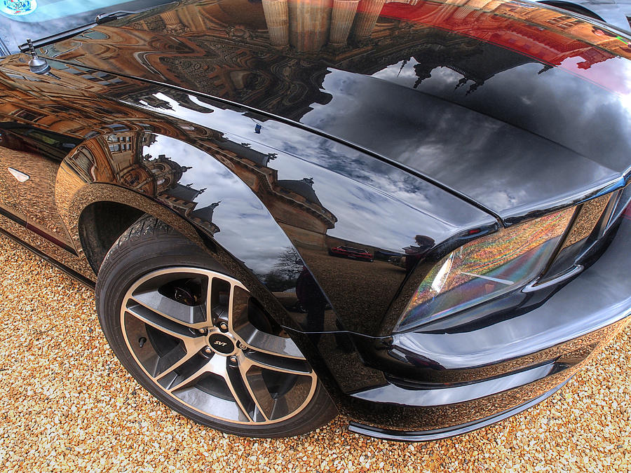 Polished To Perfection - Mustang Gt Photograph