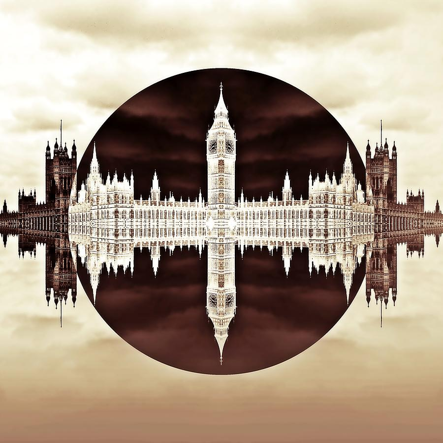 Big Ben Photograph - Political Circles by Sharon Lisa Clarke