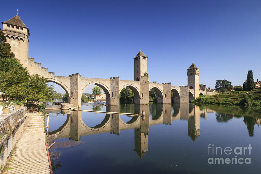 Pont Valentre Cahors France Photograph  - Pont Valentre Cahors France Fine Art Print