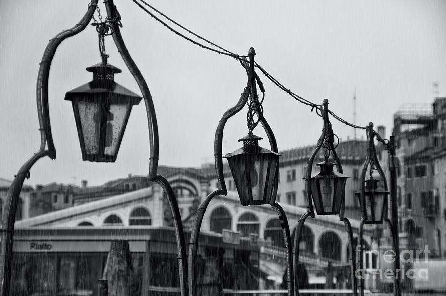 Ponte Rialto In Venice Photograph