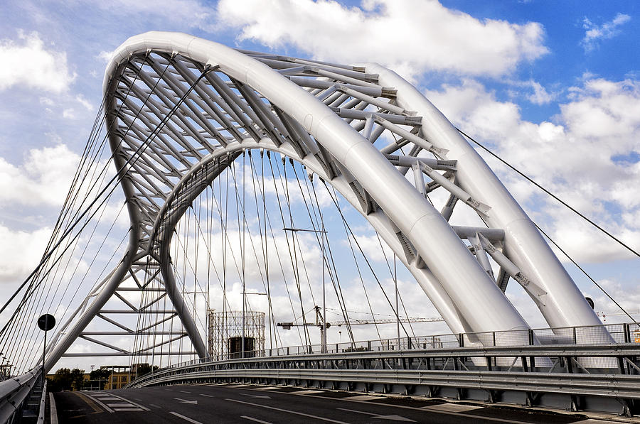 Ponte Settimia Spizzichino Photograph