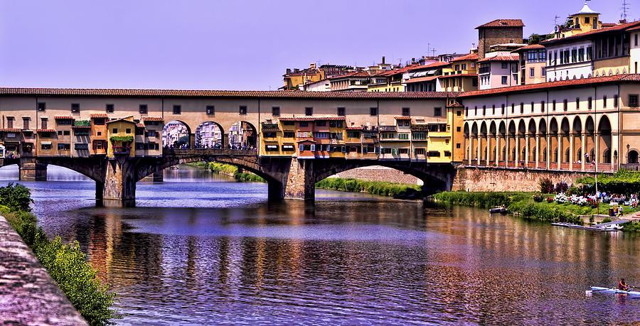 Ponte Vecchio Bridge - Florence Photograph