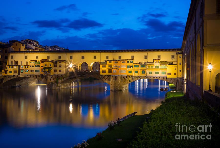 Ponte Vecchio Reflection Photograph