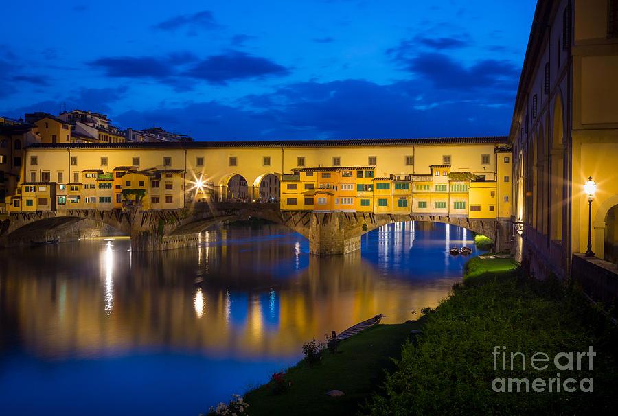 Ponte Vecchio Reflection Photograph