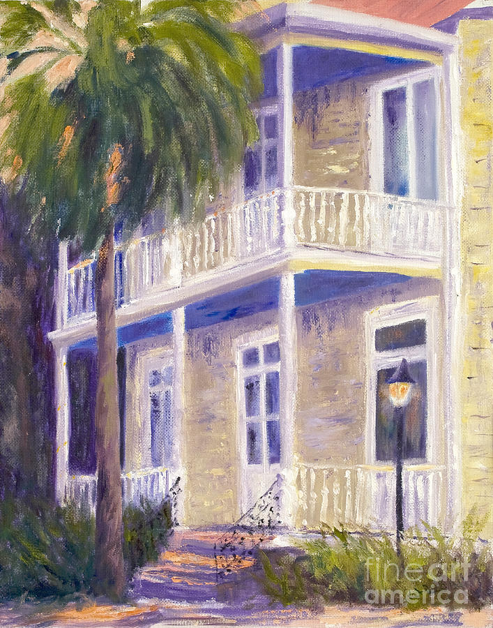 Poogans Porch Painting  - Poogans Porch Fine Art Print