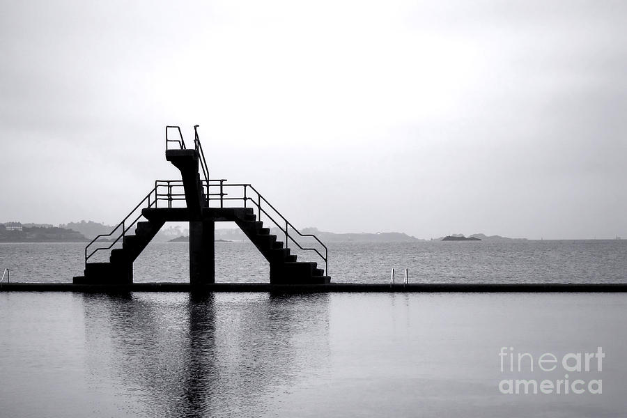 Pool By The Sea Photograph  - Pool By The Sea Fine Art Print