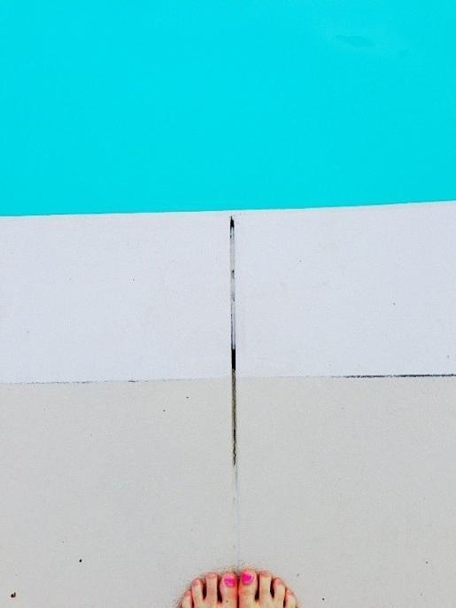 Pool Edge Photograph