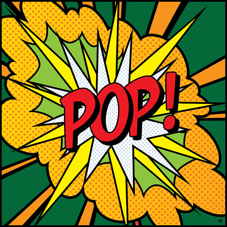 Pop Art 4 Digital Art