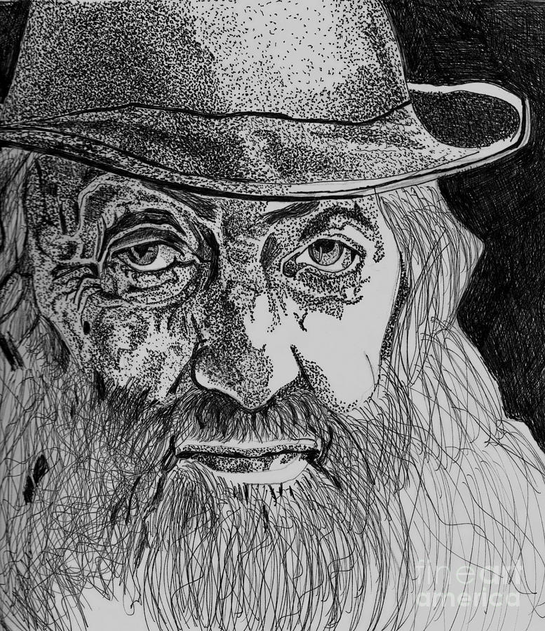 Popcorn Sutton Drawing 