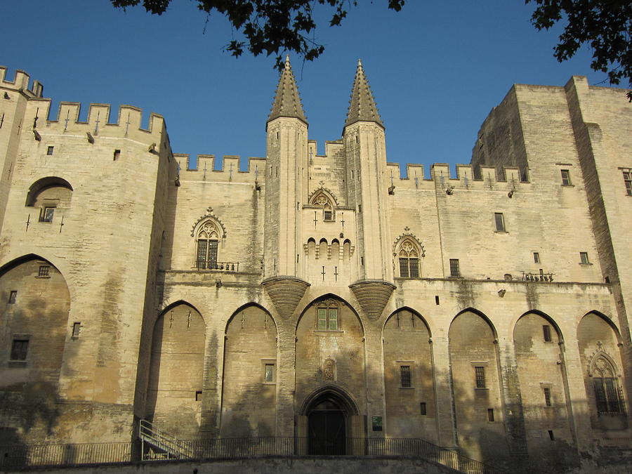 Popes Palace In Avignon Photograph