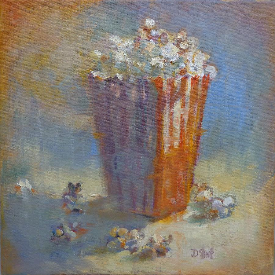 Popped Corn Painting