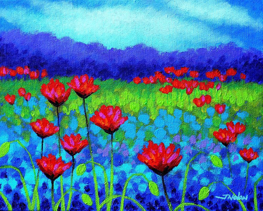 Poppy Study Painting