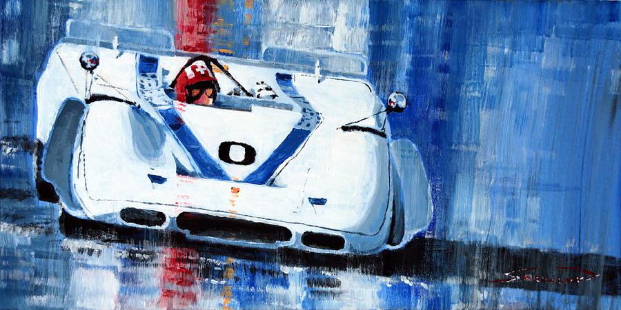 Porsche 917 Pa J.siffert Laguna Seca Canam 1969 Painting