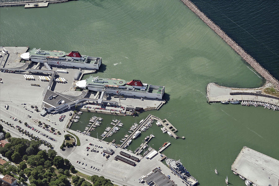 Port Of Visby Photograph