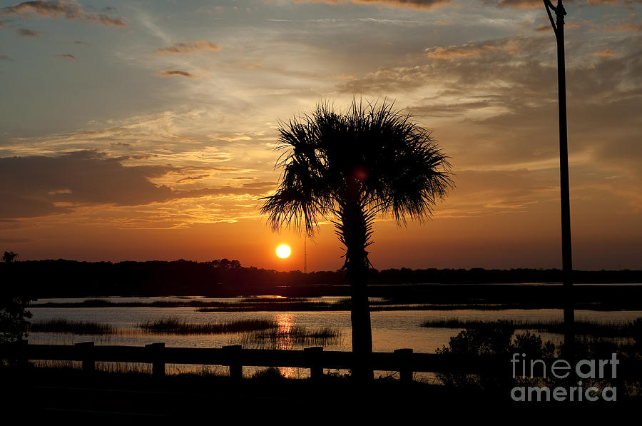 Port Royal Sunset Photograph  - Port Royal Sunset Fine Art Print