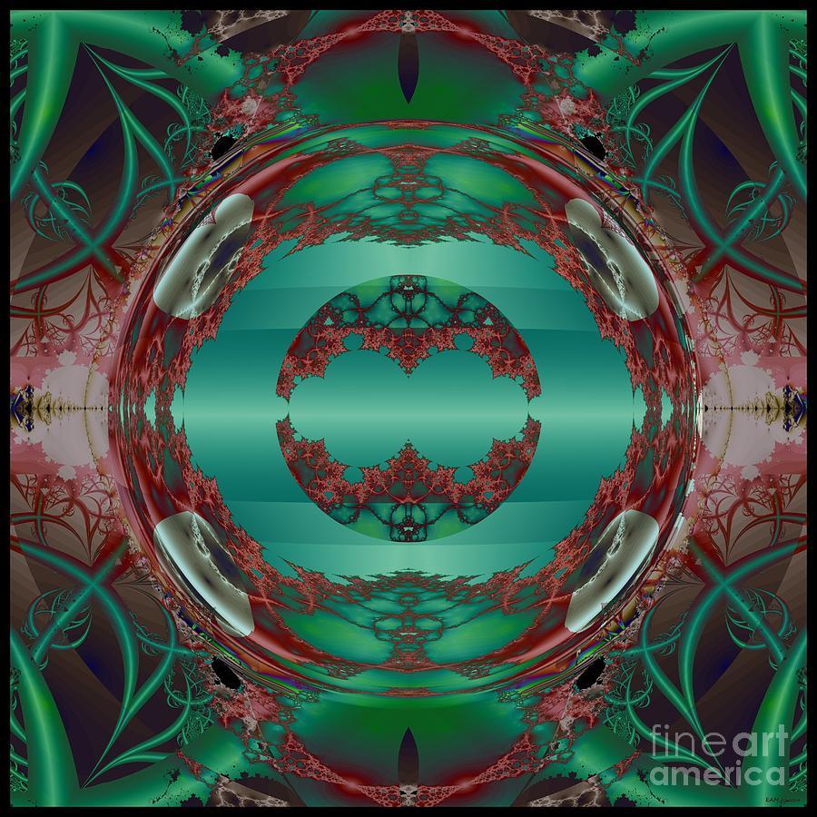 Portal / Escape Hatch Digital Art - Portal / Escape Hatch  by Elizabeth McTaggart