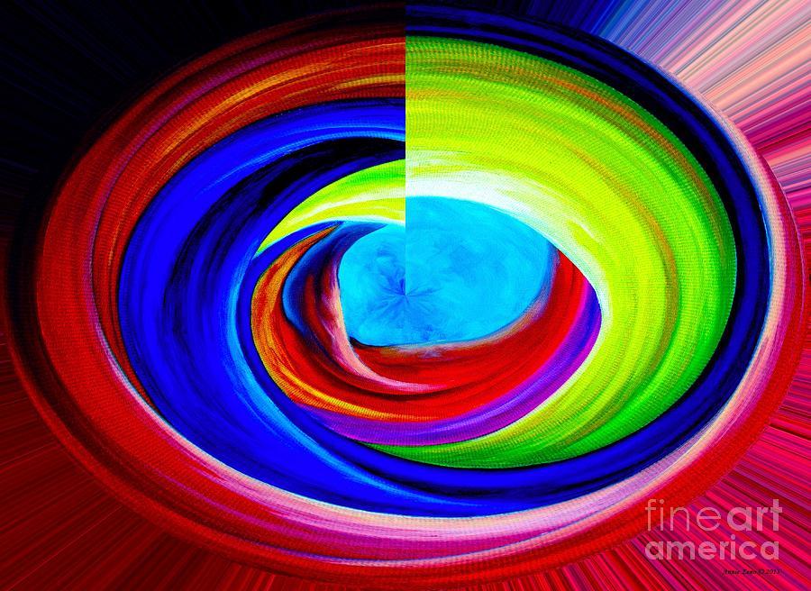 Portal In Space Abstract Art Digital Art