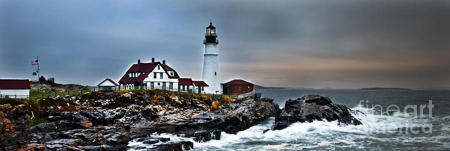 Portland Head Lighthouse 1 Photograph